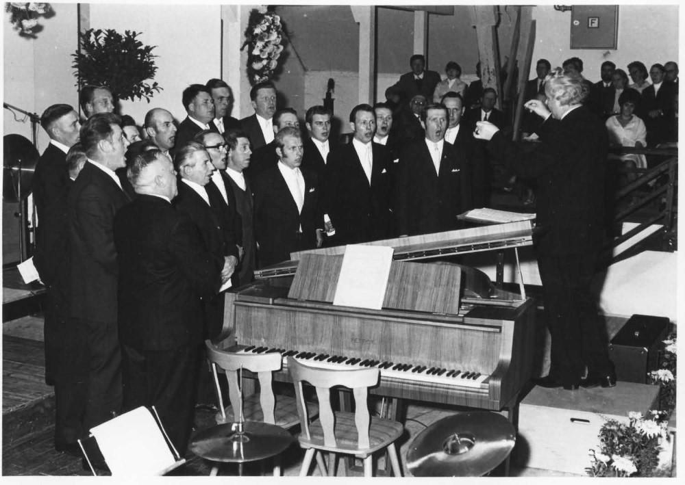 Chronik 1971 MGV Konzert