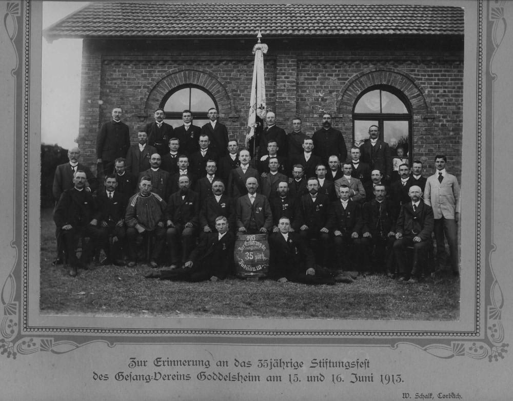Chronik 1913 MGV