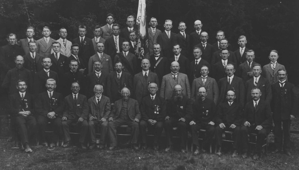 Chronik 1928 MGV 50j Stiftungsfest