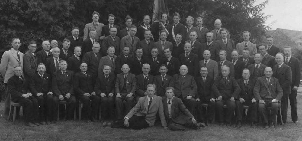 Chronik 1953 MGV 75j Stiftungsfest