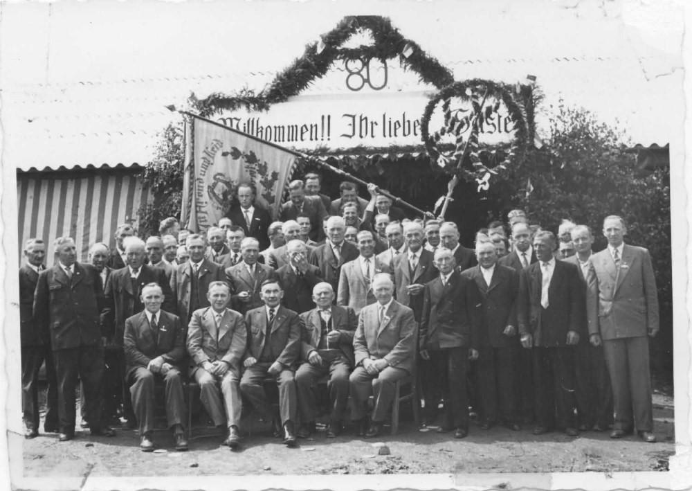 Chronik 1958 MGV 80 Jahre